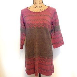 The Limited Sweater Dress / Tunic , Wool Acrylic